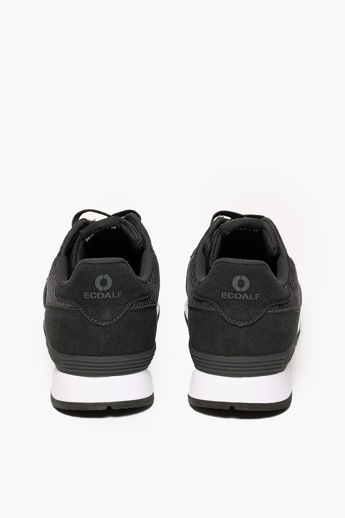 ECOALF | Baskets Yale Homme - Black
