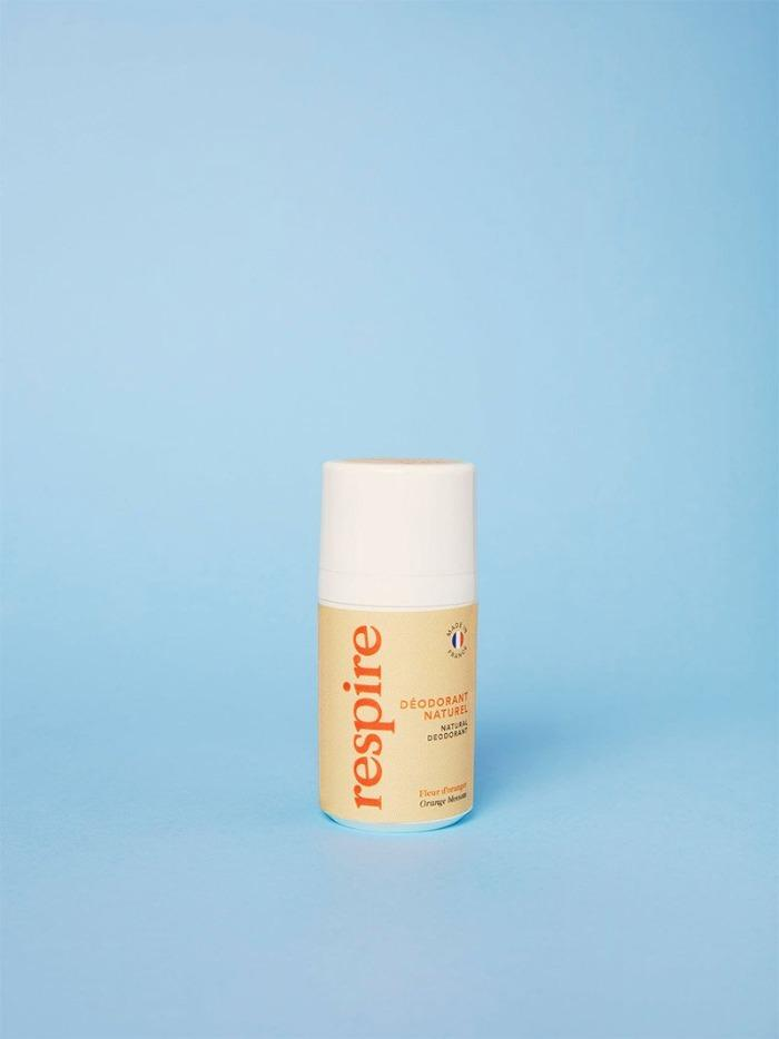 Respire | Déodorant naturel Roll On Rechargeable - Fleur d'Oranger