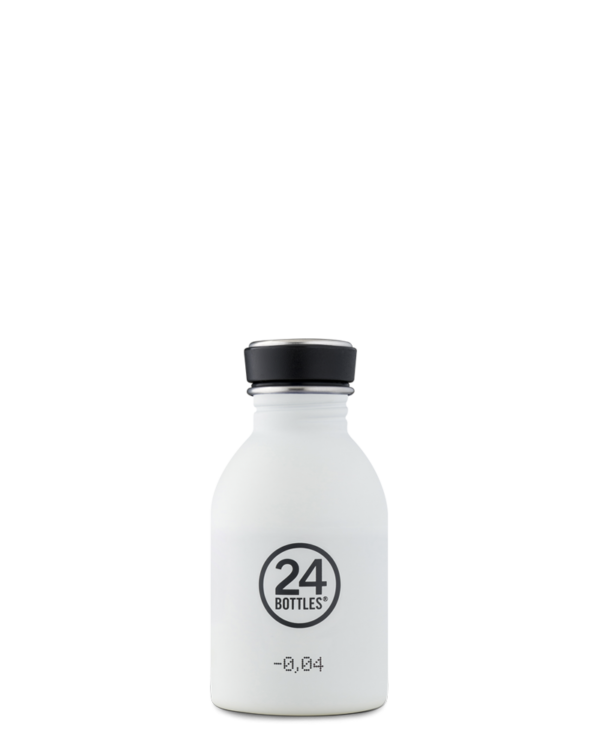[24B-159] 24 BOTTLES | Gourde Inox Urban 250ml - Ice White