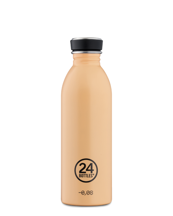 [24b-243] 24 Bottles | Gourde Inox Urban 500ml - Peach Orange