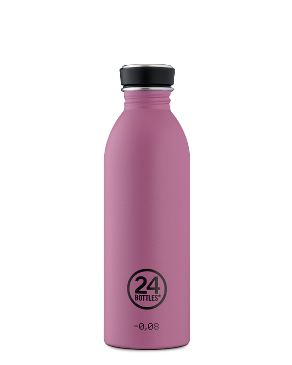 [24B-572] 24 Bottles | Gourde Inox Urban 500ml - Mauve