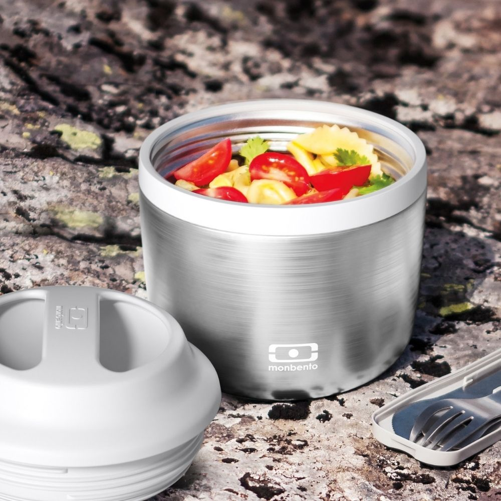 [BEN-18273998] Mon Bento | MB Element - La lunch box Metallic Silver isotherme